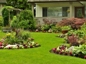 Ellsworth Rental Property with Perfectly Maintained Yard with Flower Beds