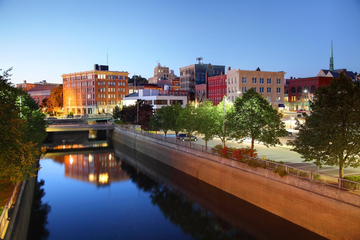 Downtown Bangor, Maine