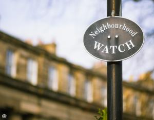 McKinney Neighborhood Watch Sign
