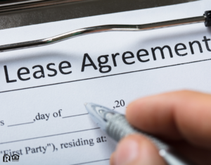 Signing a Lease Agreement for a Frisco Rental Property