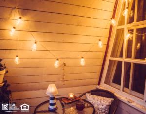 Celina Rental Home with a Retro Style Balcony