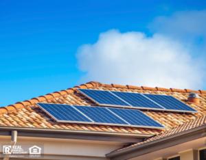 Solar Panels on Garland Rental Home