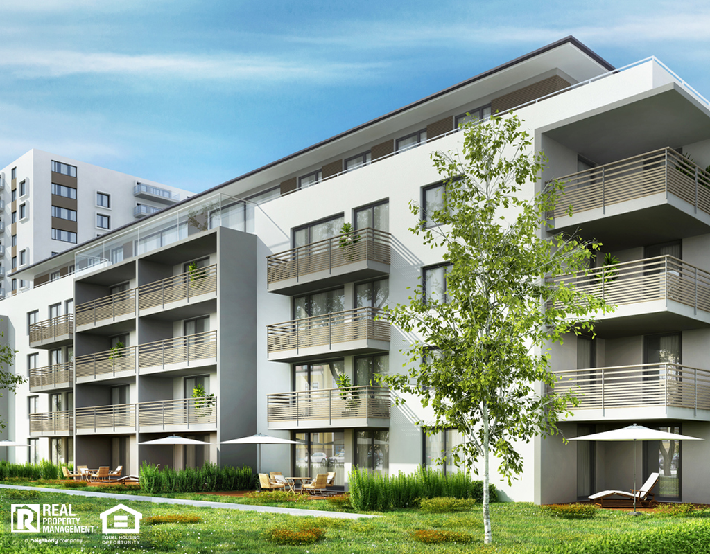 Haslet Multifamily Housing Building in a Modern Neighborhood