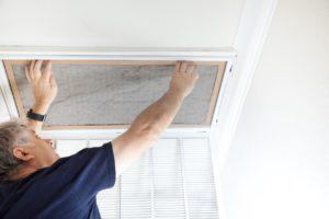 Grand Prairie Landlord Changing Air Filter