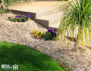 McDonough Rental Property with a Xeriscaped Yard