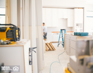 Pelham Property Manager Renovating a Rental Property Kitchen