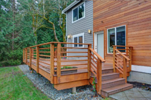 West Ashley Rental Property with a Newly Renovated Deck and Sliding Door