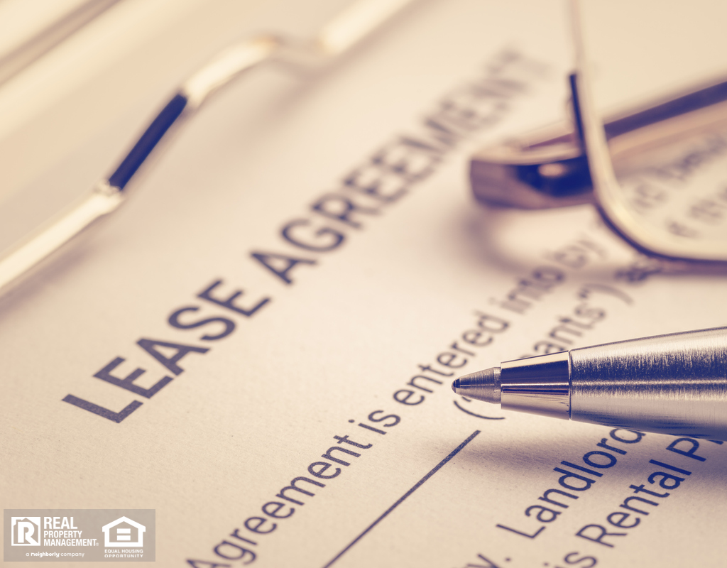 Unsigned North Austin Rental Agreement Contract