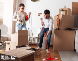 Independence Couple Moving out and Cleaning