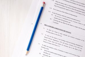 rental agreement documentation
