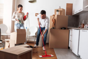 Portland Couple Moving out and Cleaning