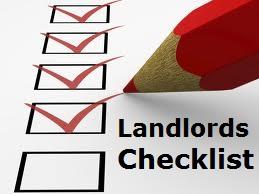 Salt Lake Property Management checklist