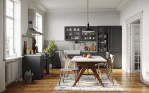 Dining room in a modern kitchen in Layton UT