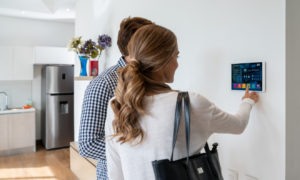 Gladstone Couple Using a Smart Security System