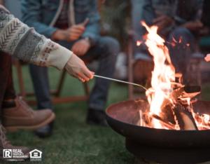 Tenants Roasting Over a Fire Pit at a Kansas City Rental Property