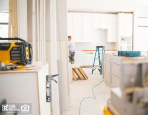 Memorial Property Manager Renovating a Rental Property Kitchen
