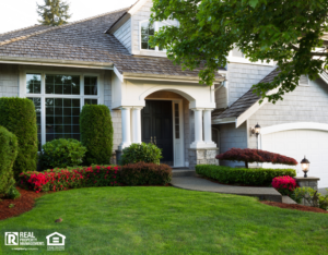Suburban House with Attractive Front Yard
