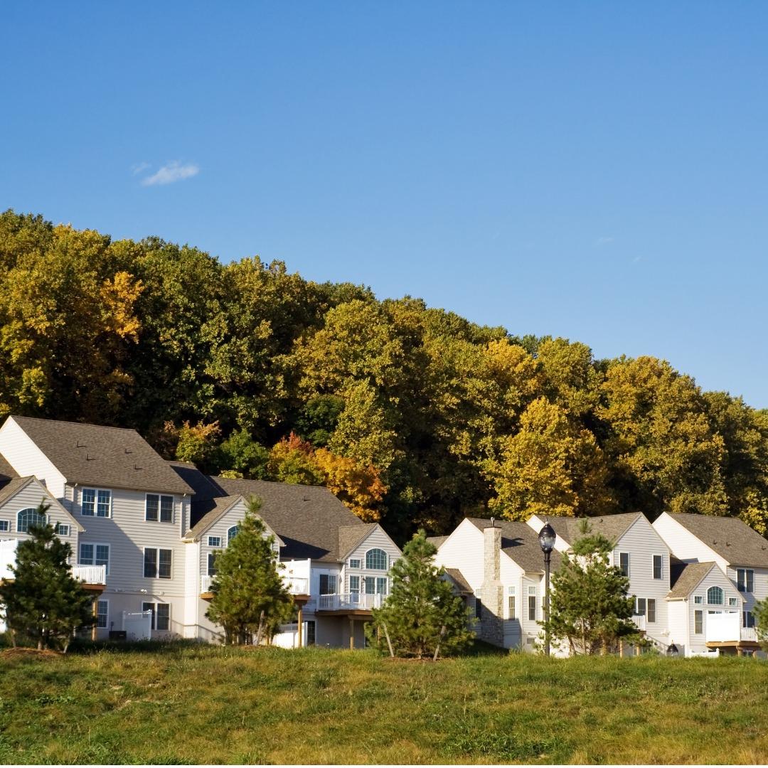 Housing development in Pennsylvania
