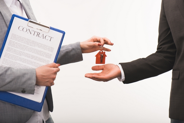 Contract And Handing Keys Over