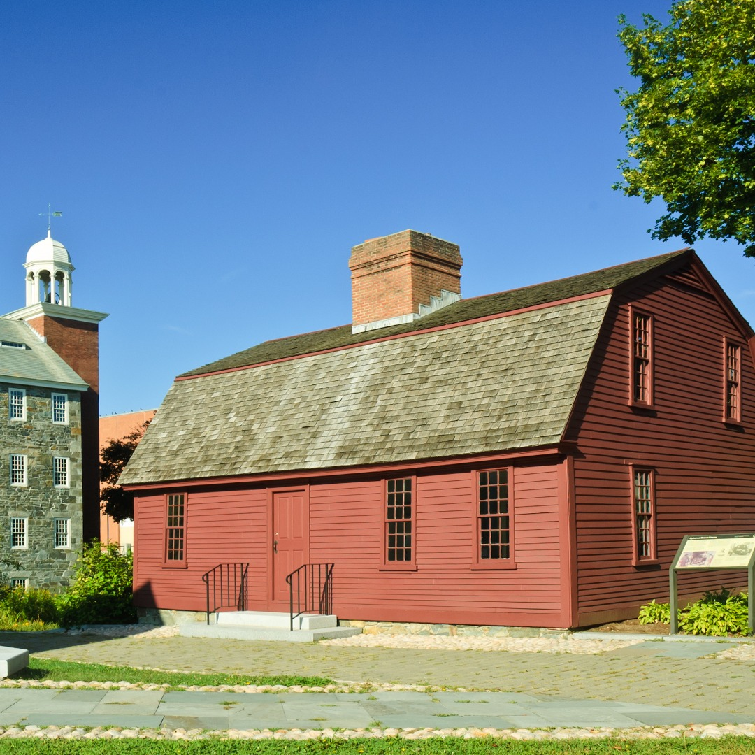 The Wilkinson Mill and Sylvanus Brown House in Pawtucket RI