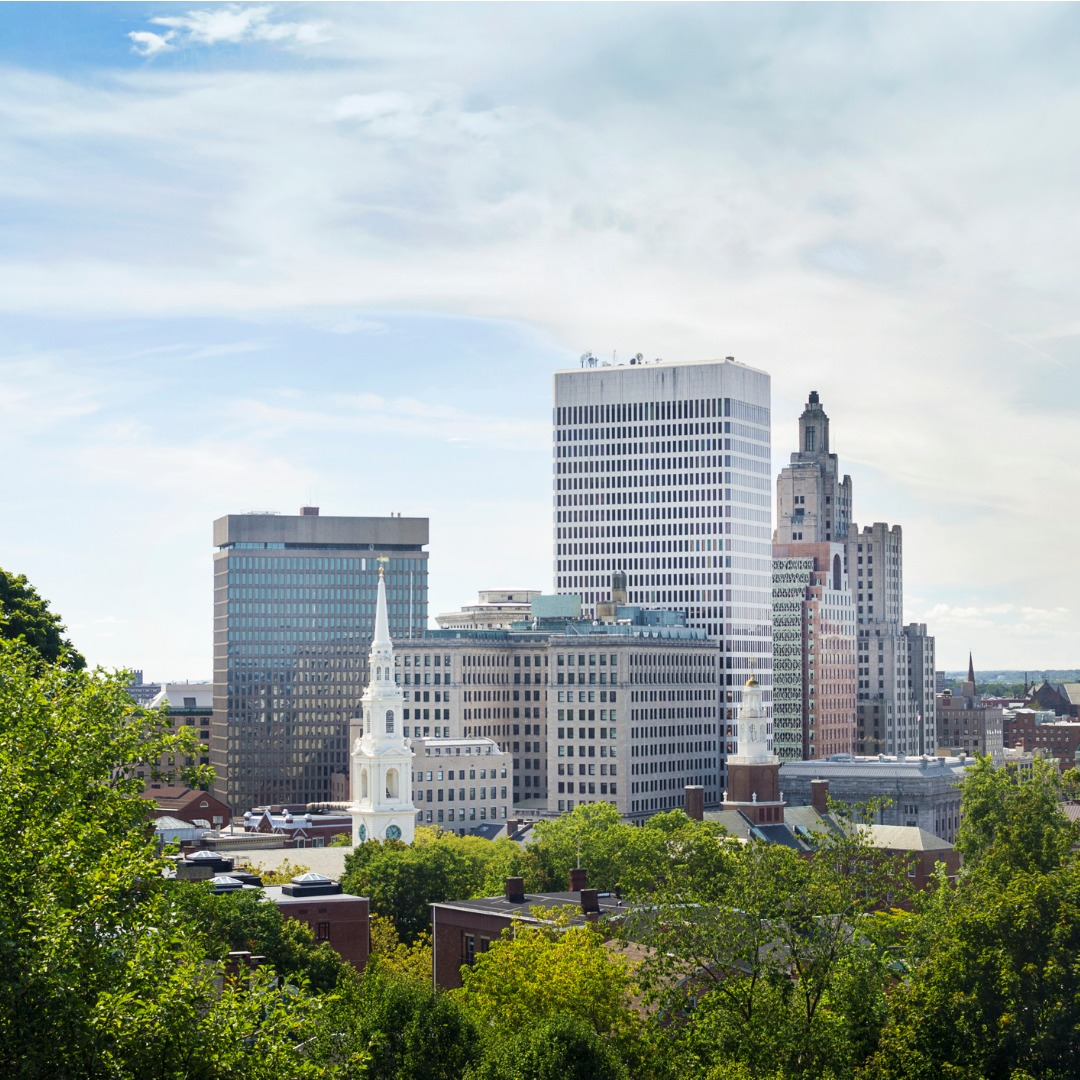 photo of east providence rhode island skyline during day