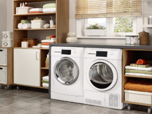 Cute and Organized Laundry Room in Westchester Rental Home