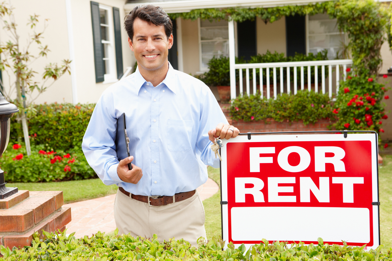 Waukesha Landlord in Front of a Short-Term Rental