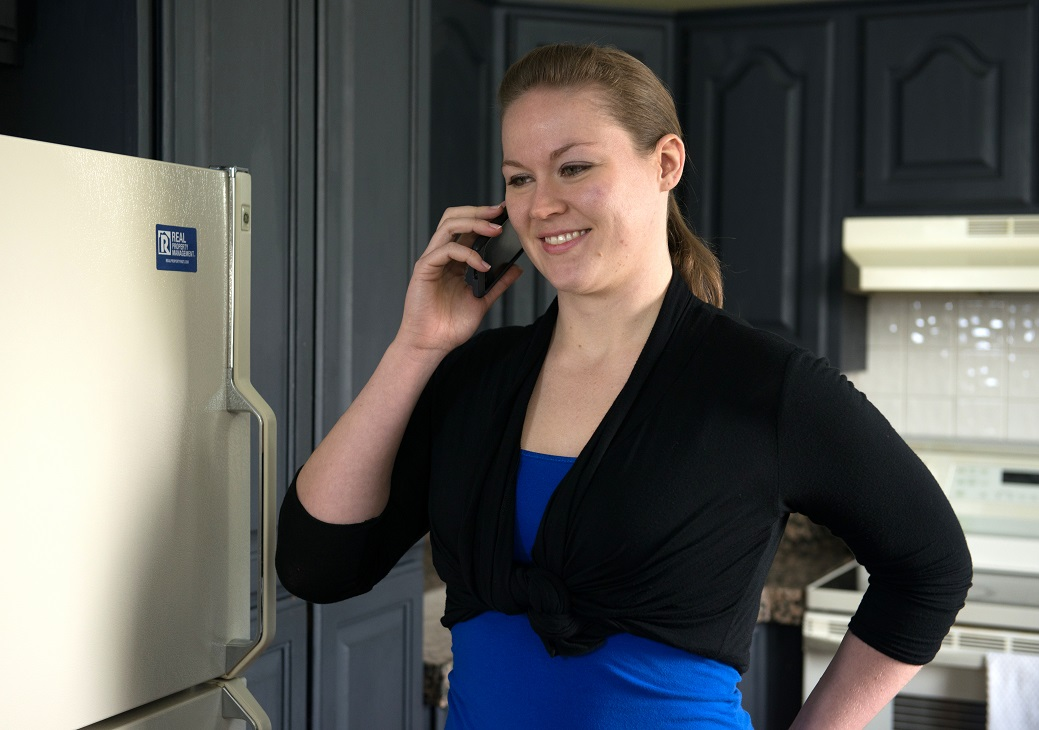Royal Oak Resident Calling the Property Manager with a Reasonable Accommodation Request