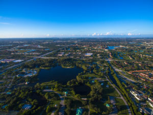 Aerial View of Pembroke Pines FL