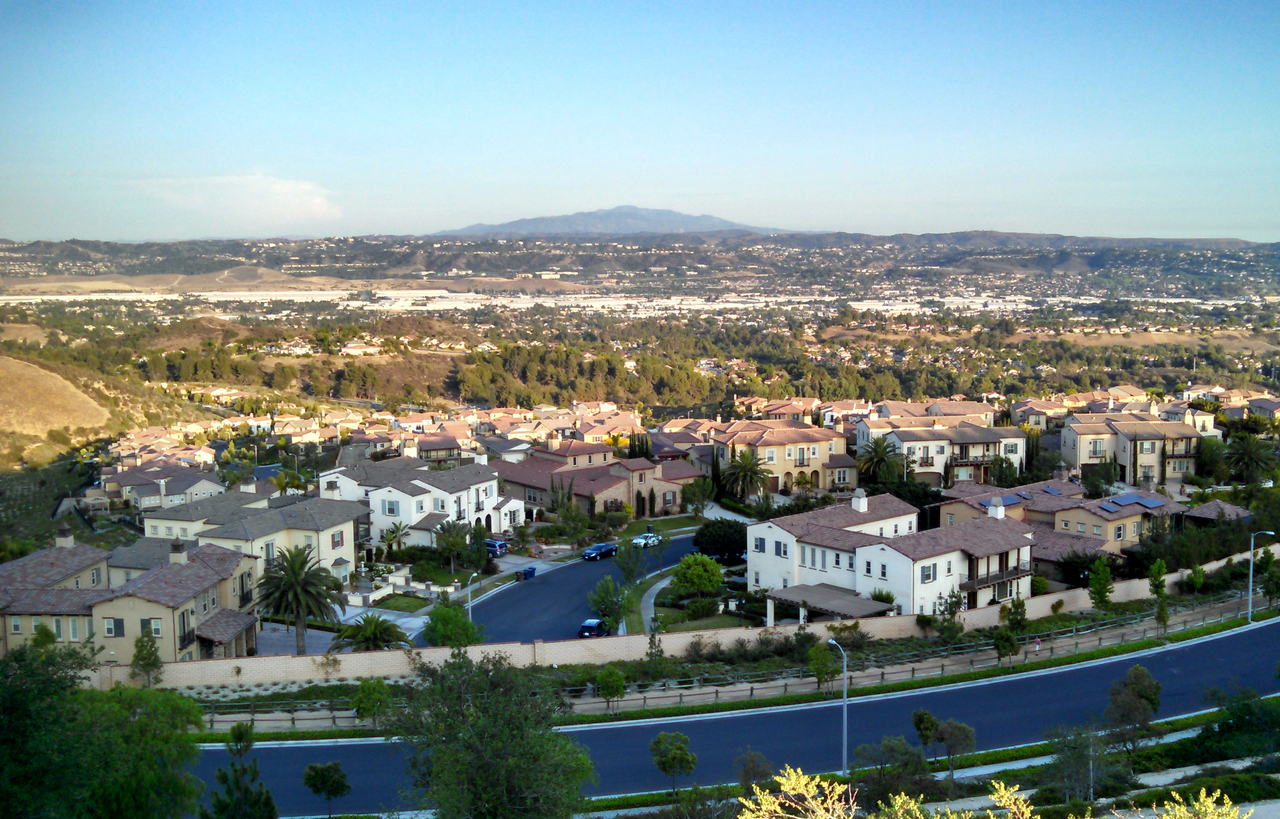 A beautiful view of the San Gabriel Valley