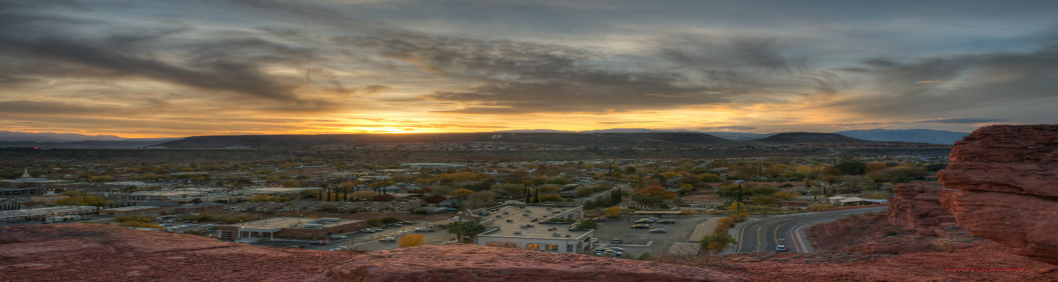 Panoramic View for Property Management in St. George, Utah