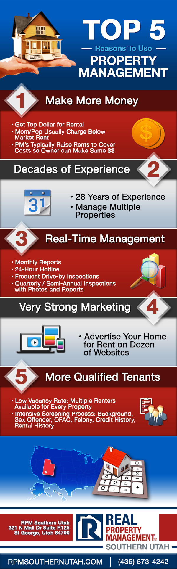 Top 5 Reasons to Use Property Management in Utah