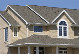 Hampton Rental Property with Clean Gutters and Downspouts