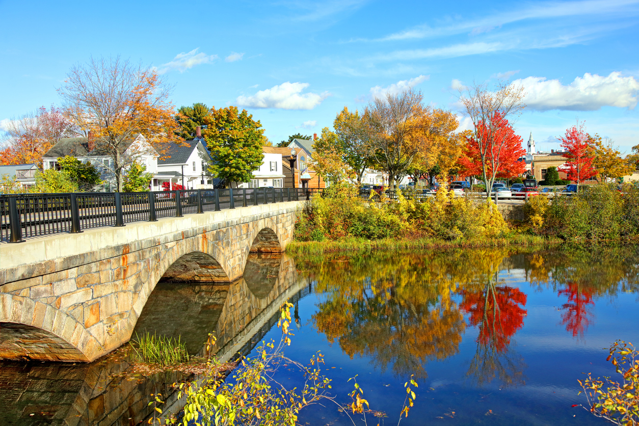 Autumn in Rochester, New Hampshire