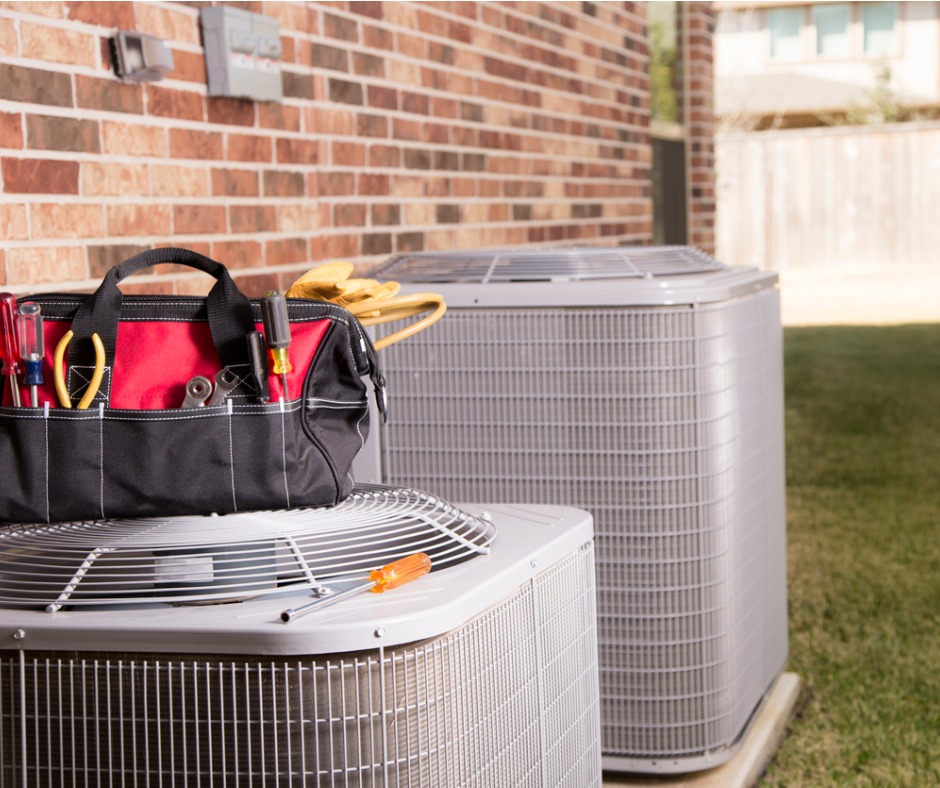 HVAC Units Ready for Their Annual Maintenance and Repairs