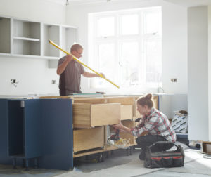 A Couple Renovating a Kitchen in their Boston Rental Property