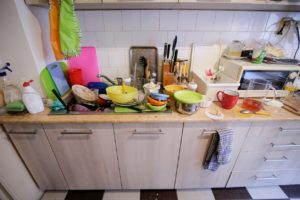 Cambridge Messy Kitchen