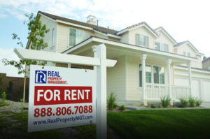 Placing a Sign on Your First Rental Property in Kirkland