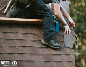 General Contractor Installing New Roof on Sammamish Rental