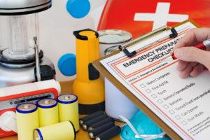 Emergency Preparation Kit for Cypress Rental Home