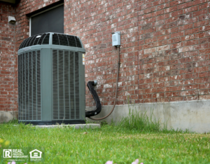 Naperville Rental Property with an Outdoor Air Conditioning Unit