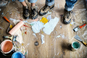 Hanover County Tenants Making Messes While Renovating Your Rental Property