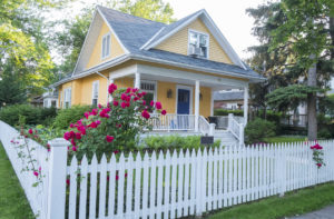 Henrico County Rental Property with a Beautifully Well-Maintained Fence