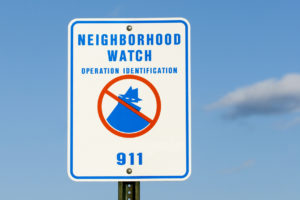Richmond Neighborhood Watch Sign