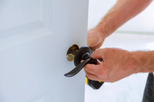 Wake Forest Property Manager Changing Locks Between Residents